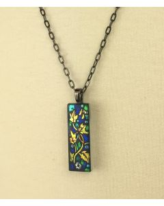 ''Miracles of Jesus Christ'' Stained Glass Pendant
