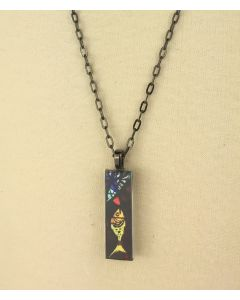 ''The Calling of Peter'' Stained Glass Pendant