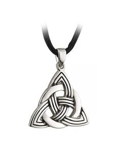 Silver Plated Trinity Necklace