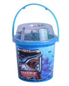 Shark Bucket Figurine Playset- Bucket