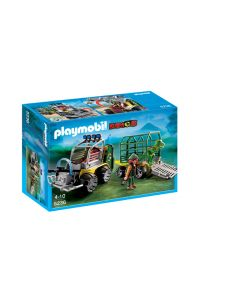Playmobil Transport Vehicle and Baby T. rex Set
