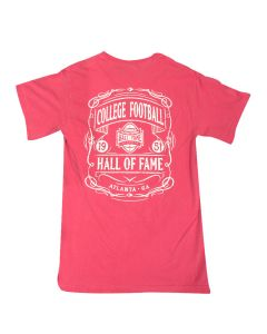 Adult College Football Hall of Fame T-Shirt-Back