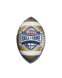 College Football Hall of Fame Football Magnet
