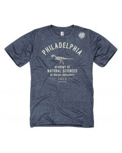 Adult Philadelphia T-Rex Academy of Natural Sciences T-Shirt