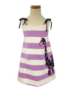 Girls Spring Dino Sun Dress