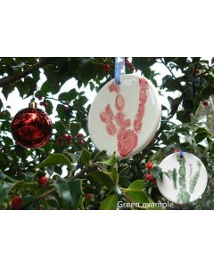 Penguin Footprint Ornament