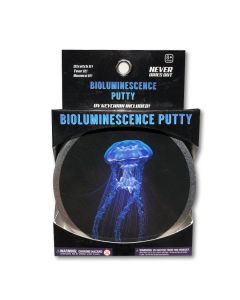 Bioluminescent Putty with UV light Keychain
