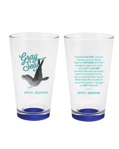 Gray Seal Ale Pint Glass