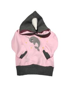 Toddler Narwhal Pullover Hoodie