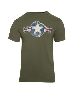Adult Vintage Army Air Corps Tee