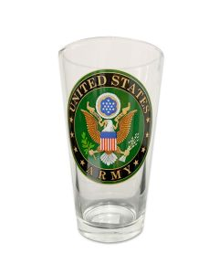 US Army Seal Pint Glass