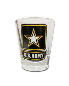 US Army Star Shot Glass