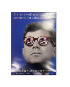 JFK Visionaries Series Celebrating Differences Poster