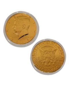 Kennedy Half Dollar Gold Coin