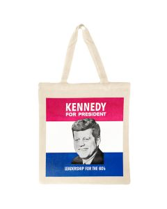 JFK for President Canvas Tote