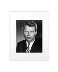 Portrait of Attorney General Robert F. Kennedy by Bachrach Matted Photo
