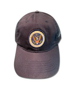 JFK Presidential Seal Navy Cap
