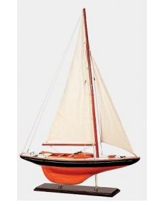 Classic Day-Sailing Sailboat Sloop Model, 34 inches