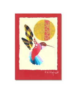 Rick Kupferer Bird Greeting Card