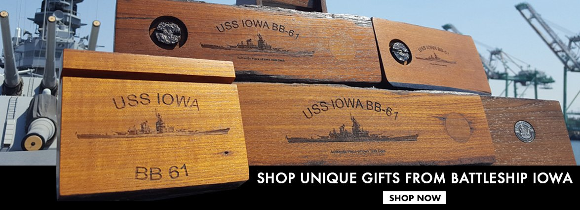 Shop USS Iowa's Deck Collection