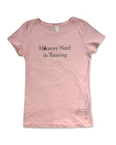 Youth History Nerd in Training Tee