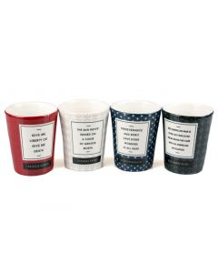 Quotes Shot Glass Set