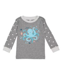Toddler PJ Top Cute Octopus