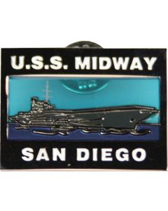 USS Midway San Diego Collector's Pin