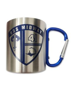 USS Midway Carabiner Cup
