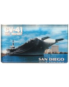 USS Midway Ship Magnet
