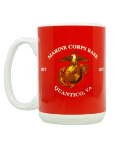 Marine Corps Base Eagle, Anchor and Globe Mug