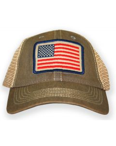 US Flag Trucker Cap