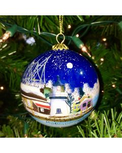 Inside Hand Painted Ornament