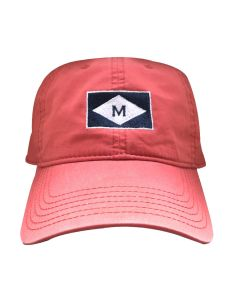 Red ''M'' Burgee Cap